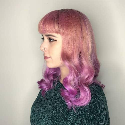 Gradient Purple Mixture