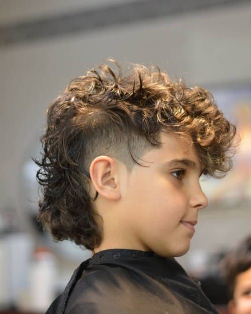 Curly Mohawk