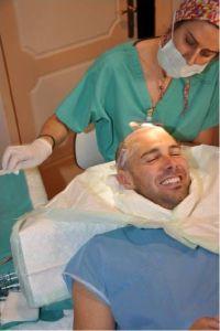 Football Celebrity Richard Lee Hair Transplant