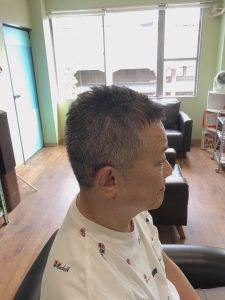 メンズ ショート ベリー 髪型 代 50