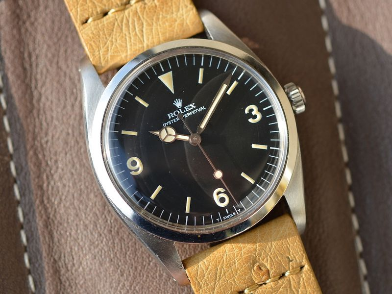 Rolex 5504 Air King with 3-6-9 Explorer Dial