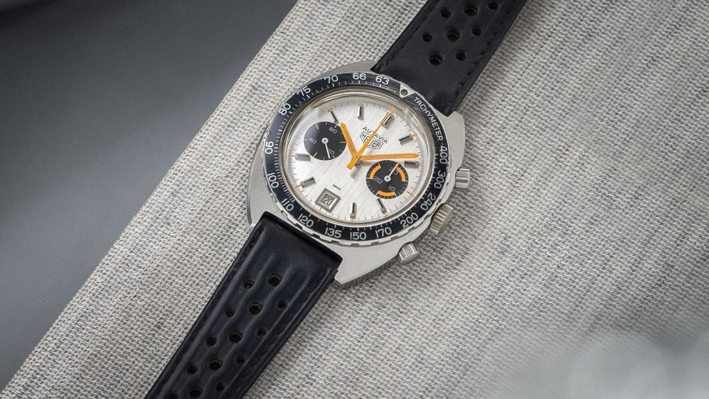 Heuer 73463 Silver Dial