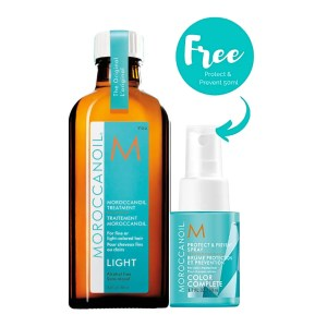 Moroccanoil light spray kit