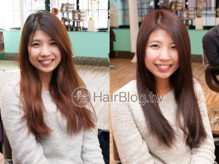 紅棕色系列髮色作品【2015年式】- 消除毛躁髮實作