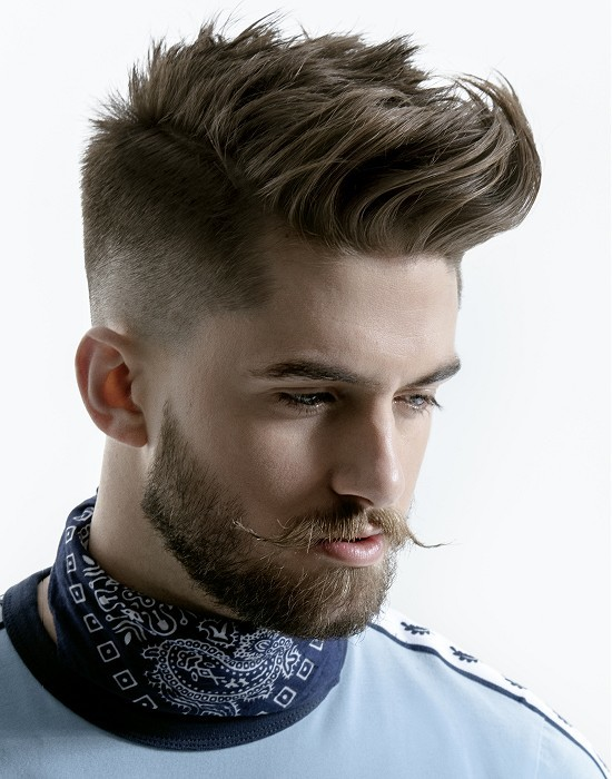 1 Fade Into 2 Haircut 0 5 A Blade With Scissor Over Comb