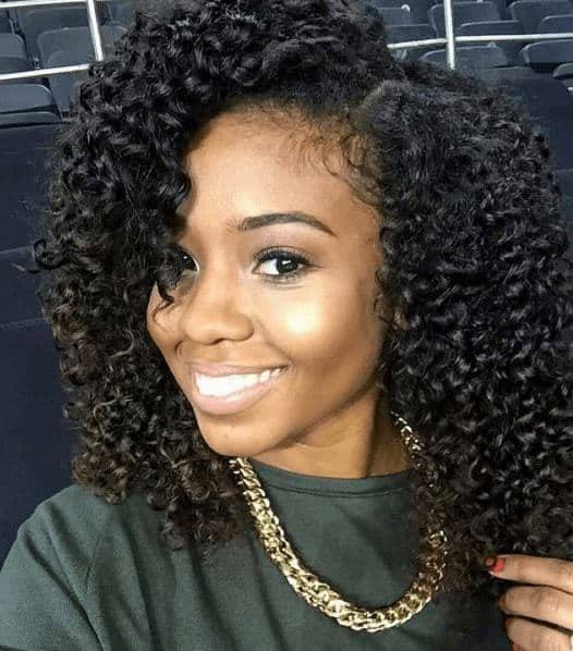 Nigerian Braid-out Hairstyles