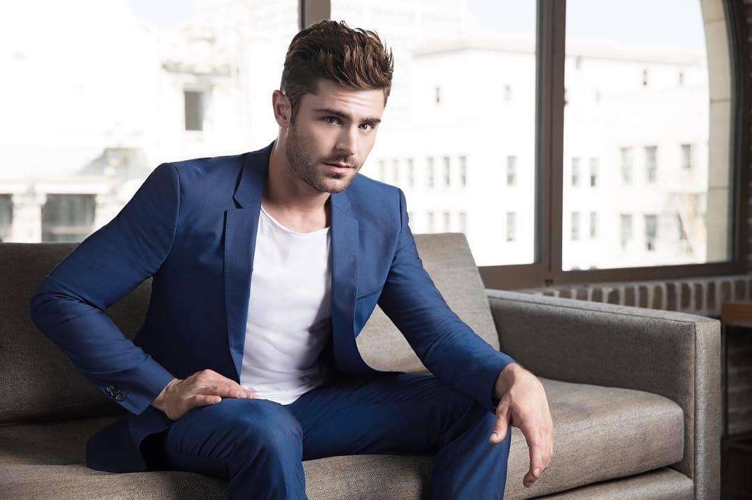 7 Ultimate Zac Efron Beard Plus Hairstyles To Copy