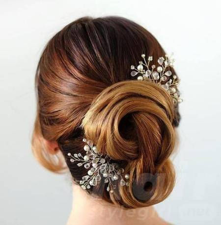 Most Beautiful Bridal Updos for Elegant Brides | Hair Style
