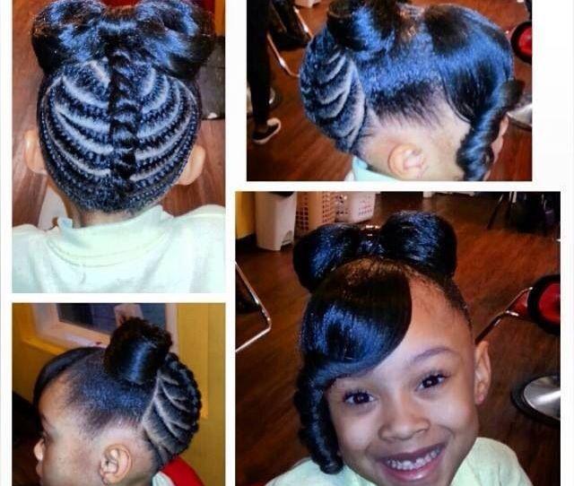 Minnie Mouse Hair Kids Braid Styles
