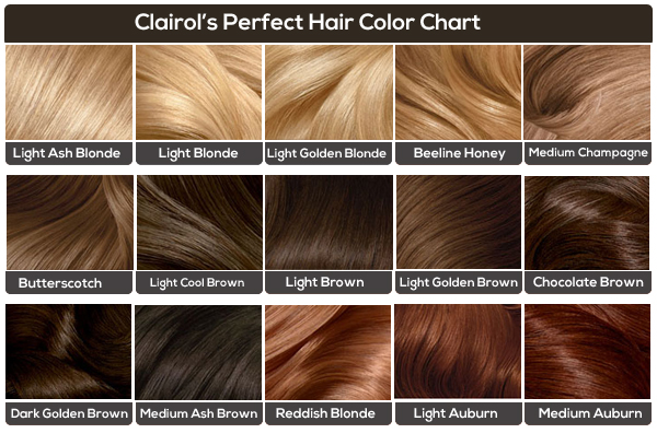 Clairol Light Brown Hair Color