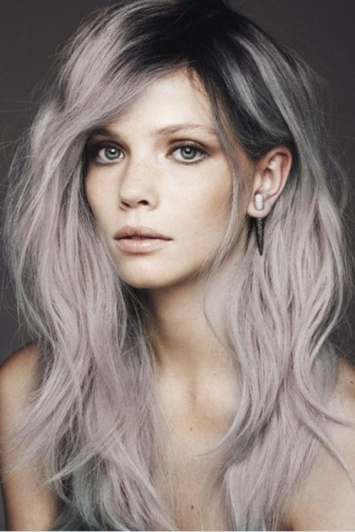 Silver Hair Dye 30 Gorgeous Silver Hair Dye Looks