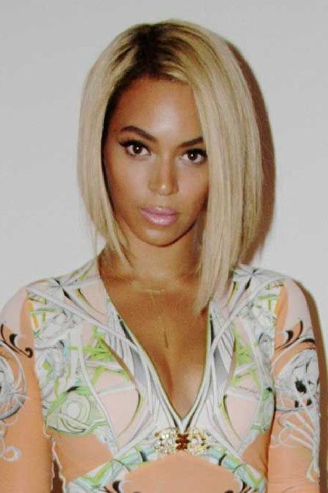 bob one side longer than other | hair color ideas and styles