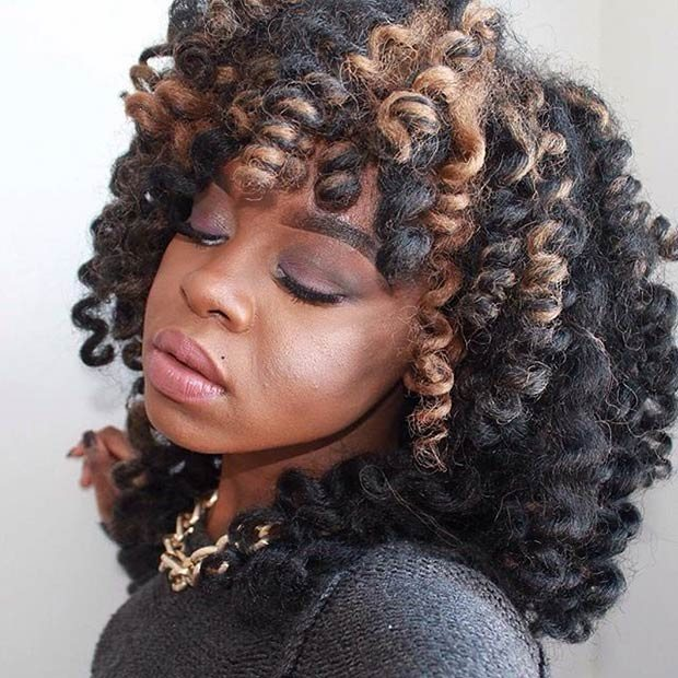 Super Chic Crochet Braid Styles With Human Hair