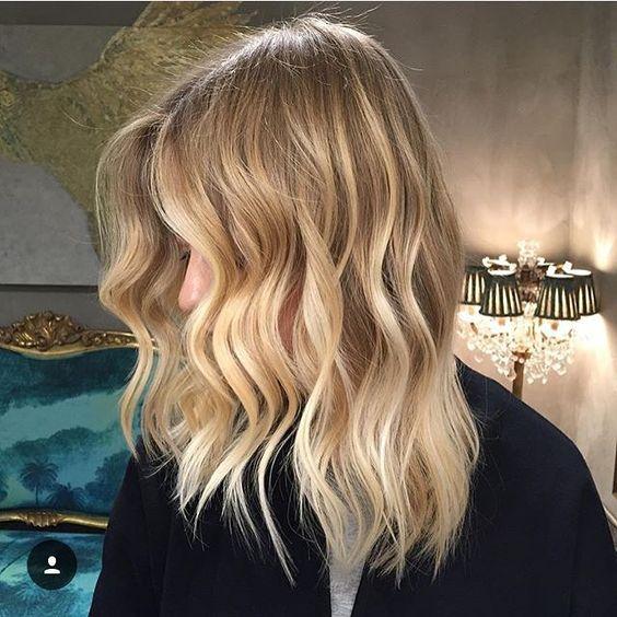 Blonde Balayage Hair Colors With Highlights Balayage Blonde