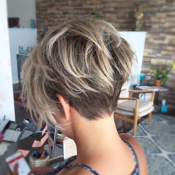 Short Haircuts For Thick Hair 2018 Photo 10