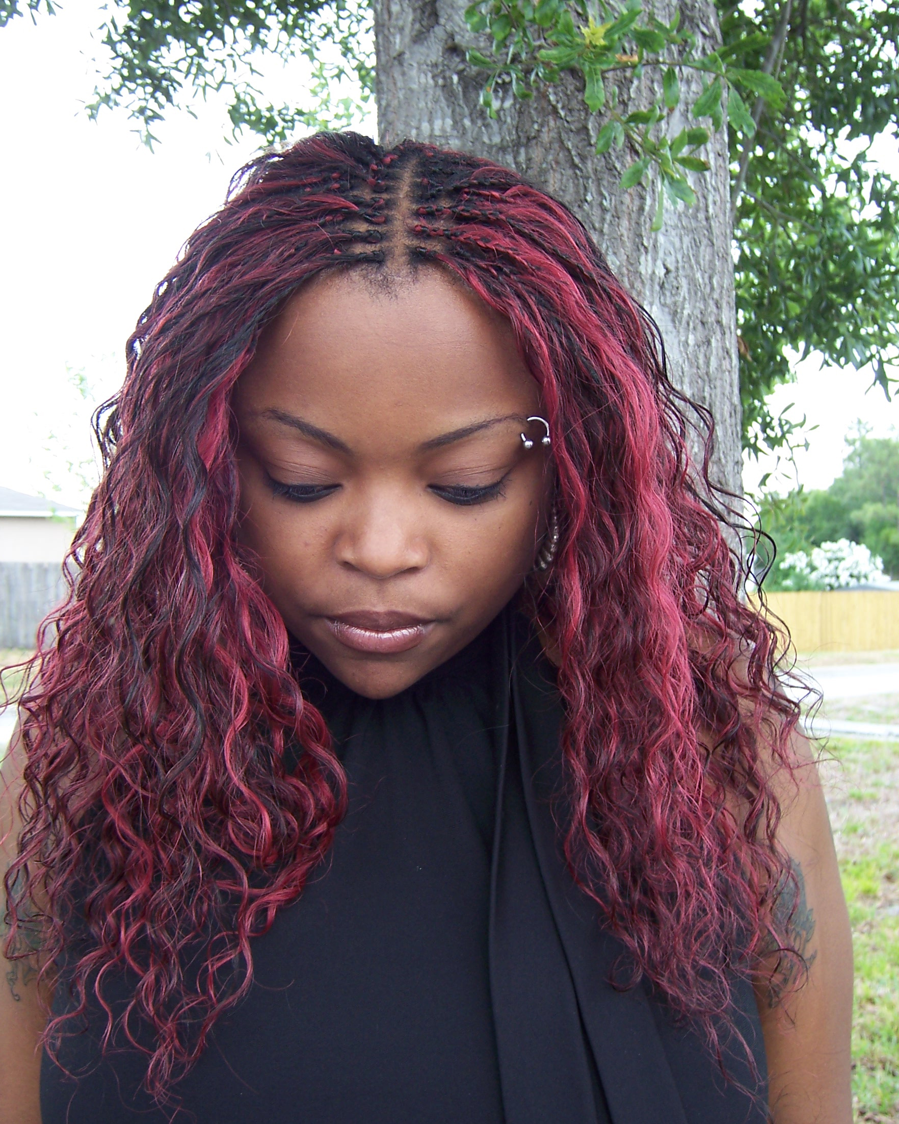 30 Protective Tree Braids Hairstyles For Natural Hair Part 2