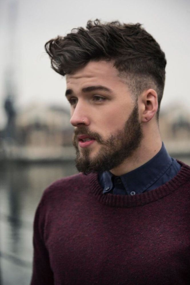Haircut For Long Face Men