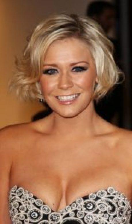 Women Over 40 ear length big curls