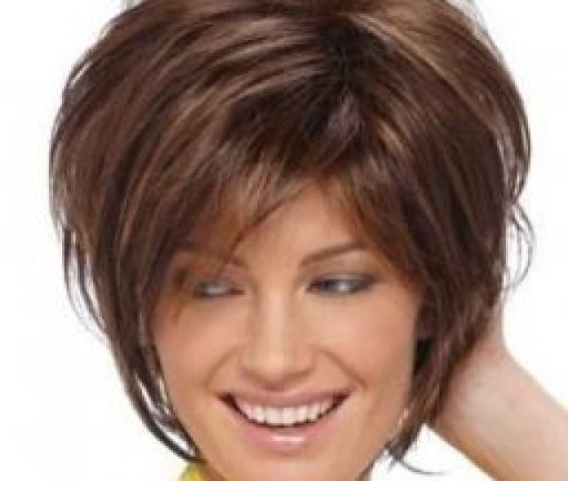 Hairstyles For Women Over  Asymmetrical Short Bob With Layers