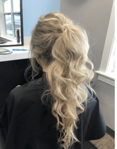 Prom Hairstyles Trending on Instagram   Voluminous Pony   Hairstyle on Point