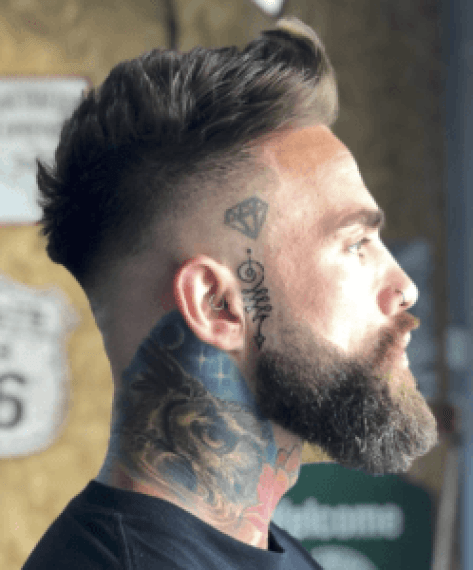 Shave This, Not That: How To Line Up Your Beard | Faded Beard | Hairstyleonpoint.com