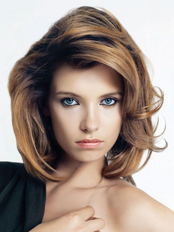 Shoulder Length Layered Hairstyles 2014 2019 Haircuts