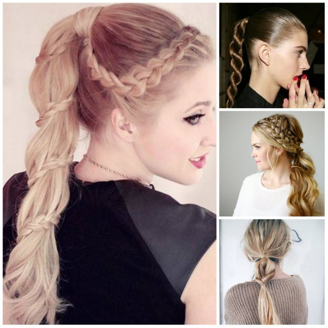 braided ponytail hairstyles for 2016 | 2019 haircuts