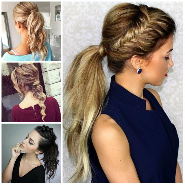 simple messy ponytails for 2017   2019 haircuts, hairstyles