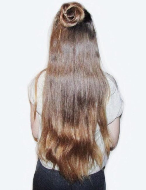 Casual Half Up Half Down Hairstyles For 2017 2019
