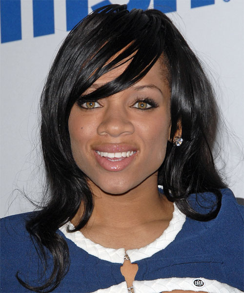 Lil Mama Long Straight Casual Hairstyle