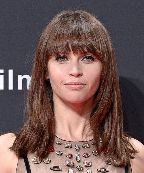 Felicity Jones Hairstyles In 2018
