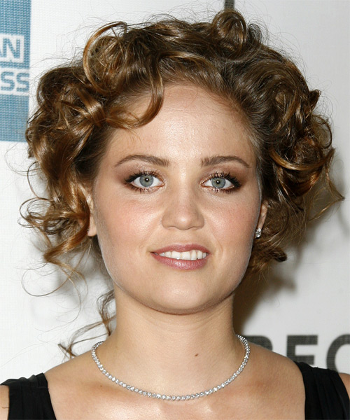 Erika Christensen Formal Medium Curly Updo Hairstyle