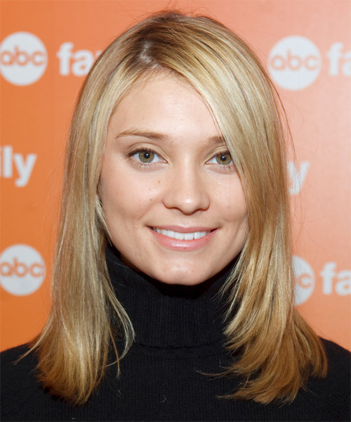 Spencer Grammer Medium Straight Casual Hairstyle
