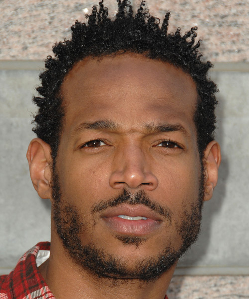 Marlon Wayans Short Curly Casual Hairstyle