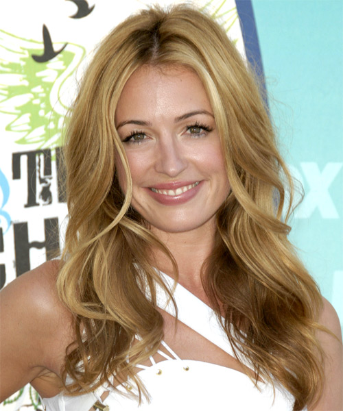 Cat Deeley Long Wavy Casual Hairstyle