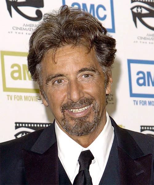 Al Pacino Short Wavy Casual Hairstyle