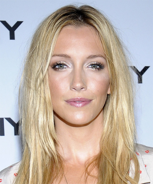 Katie Cassidy Long Straight Casual Hairstyle Light