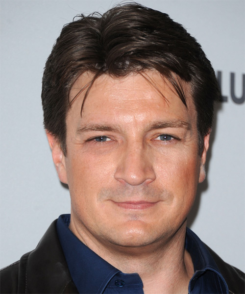 Nathan Fillion Hairstyles Hair Cuts And Colors