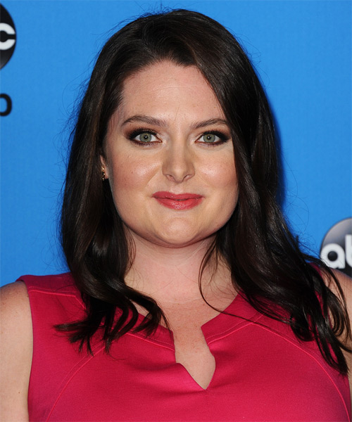 Lauren Ash Long Straight Casual Hairstyle