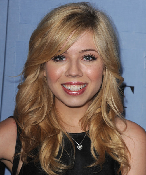 Jennette McCurdy Long Wavy Formal Hairstyle