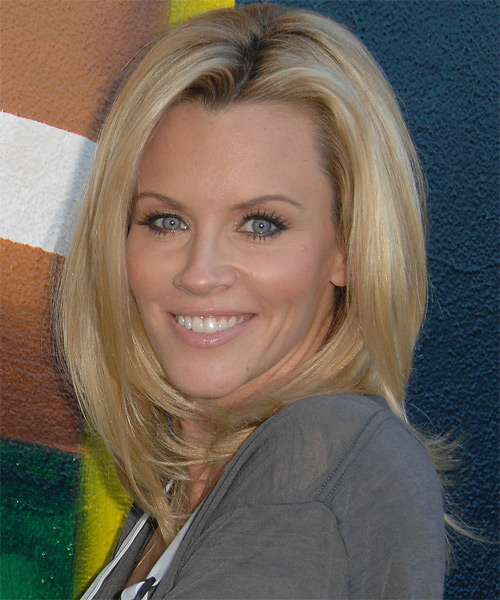 Jenny McCarthy Long Straight Casual Hairstyle Light