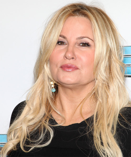 Jennifer Coolidge Casual Long Straight Hairstyle Light