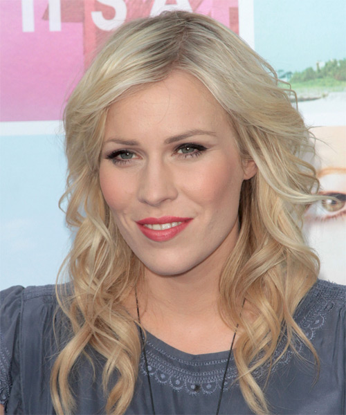 Natasha Bedingfield Long Wavy Formal Hairstyle Light