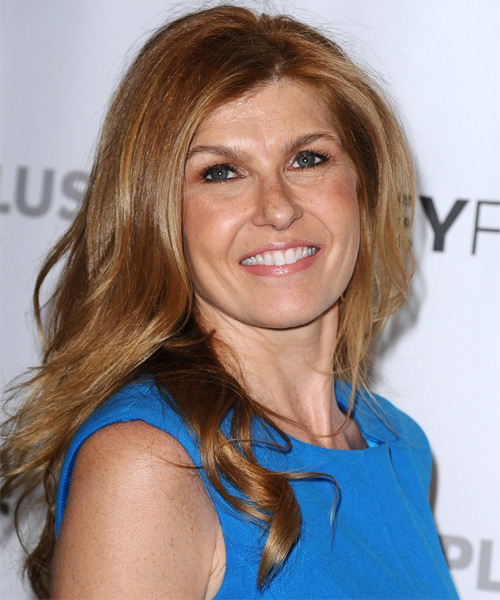 Connie Britton Long Straight Casual Hairstyle