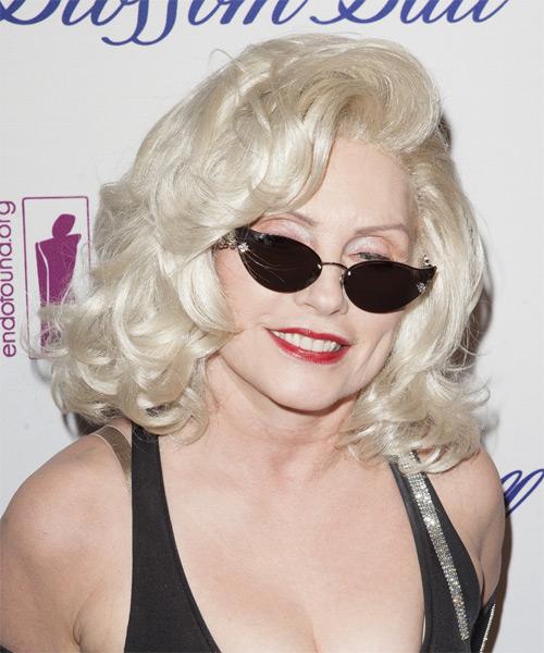 Debbie Harry Formal Medium Wavy Hairstyle
