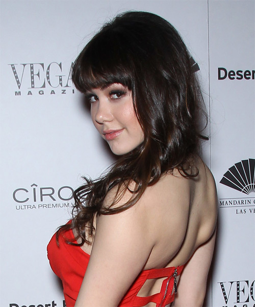 Claire Sinclair Casual Long Straight Hairstyle With Blunt