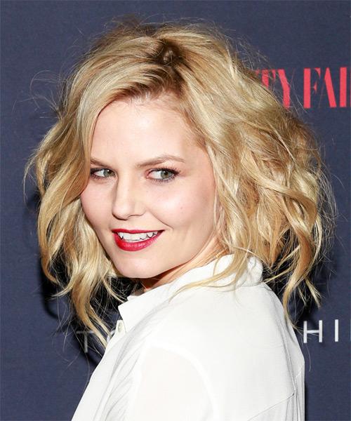 Jennifer Morrison Medium Wavy Casual Hairstyle Golden