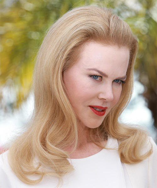 Nicole Kidman Formal Long Straight Hairstyle Light