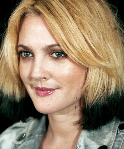 Drew Barrymore Medium Straight Alternative Hairstyle
