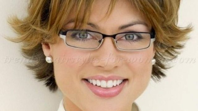 55 latest hairstyles for 50 & 60 year old woman with glasses